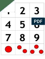Juego Asociación Números 1-9