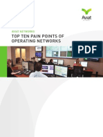 Top Ten Pain Points of Network Operators