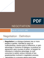 Negotiffation Thfeory