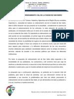 Motivacion Propuesta de Ordenamiento Vial de La Ciudad de San Isidro