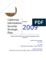 California Information Security Strategic Plan 2009