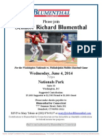 Washington Nationals vs. Philadelphia Phillies Baseball Game