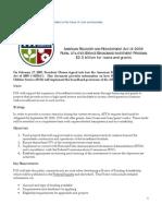 USDA-RUS ARRA Broadband Investment Program Released 06-09-09