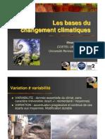 Vincent Dubreuil - Les bases du changement climatique