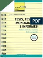 Tesis Tesinas Monografias e Informes Mirta Botta