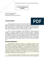 CR Vincent Dubreuil - Les Bases Du Changement Climatique
