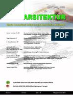 Jurnal Perspektif Arsitektur Vol. 7 No. 2 ISSN 1907-8536
