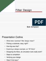 Practical Filter Design II