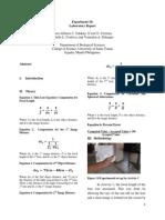 Experiment 10 Physics