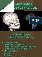 Traumatismo craneoencefalico