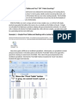 Microsoft Excel 2007 Pivot Table Beginners Guide