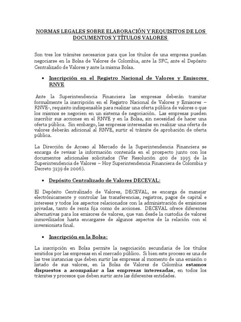 Normas legales elaboracion titulos valores 1 thecheapjerseys Gallery