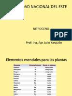 fertilidad nitrogeno