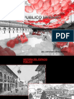 Espacio Publico Urbano