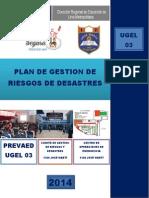 PLAN DE GESTIÓN DE RIESGO DE DESASTRES 2014 - IE N° 1124 JOSÉ MARTI