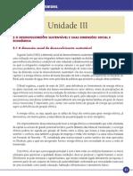 Desenvolvimento Sustentavel Unidade III