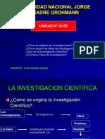 St-09 Unidad 02 La Investigacion Cientifica