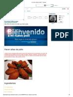 (1) Hacer Alitas de Pollo - Taringa!