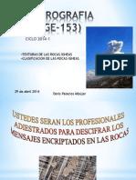 Sesion 4-1 Clasificacion -Texturas 2014-1