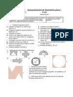 Autoevaluación de Geometría Plana 3º ESO