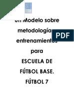 Esquemas de Juego Futbol 7