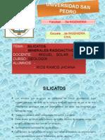Silicatos y Minerales Radioactivos