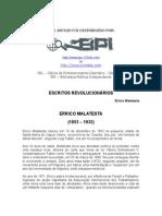 MALATESTA, Errico - Escritos Revolucionários