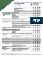 TI ABC Anti-bribery Checklist 2014