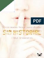 Sin Historial - Lissa Dangelo