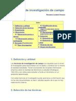 técnicas de investigación de campo.doc