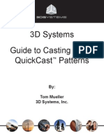 3D Systems Guide to Processing QuickCast Patterns