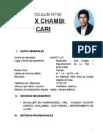 Curriculum Felix Comunicador