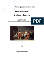 A Alma e Imortal - Gabriel Delanne