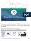 100 OS X Mavericks Keyboard Shortcuts