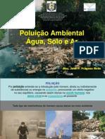 Aula -Poluição-água Solo Ar