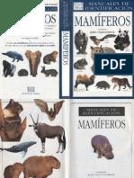 Animales - Manual de Identificacion de Mamiferos