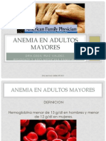 Anemia en Adulto Mayor