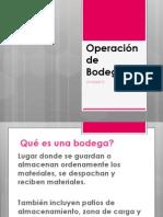 Operación de Bodegas54
