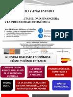 GAY DE LIÉBANA, J.M.  - Auscultando y analizando España 2013
