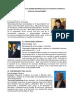 Cartilla de Expositores Seminario Internacional Economía y Sociedad