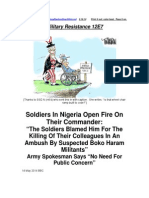 Military Resistance 12E7 Soldiers for Themselves