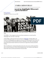 Farm Aid Concert to Highlight Missouri Independent Pork Farmers