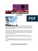 Introduction Radar Doppler