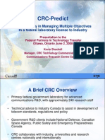 CRC Predict Shackell Presentation