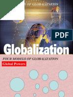 4 Models of Globalization