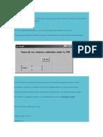 Ciclo for en Visual Basic