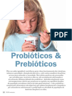 Probiótico e Prebiótico