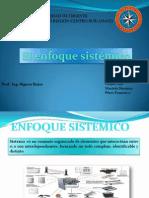 Presentación ENFOQUE Sistemico
