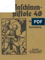 MP-40 Submachine Gun Manual
