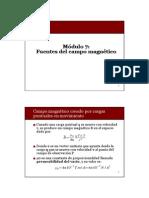 07-Fuentes Del Campo Magnetico